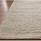 Textures Cable Chunky White Rug