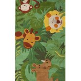 Kinder Safari Friends Kids Rug