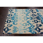 Pop Lanterns Blue Rug