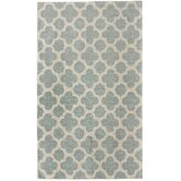 Chelsea Neid Moroccan Trellis Blue Rug