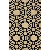 Marbella lattice Beige Rug
