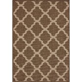 Villa Outdoor Moroccan Trellis Taupe Rug