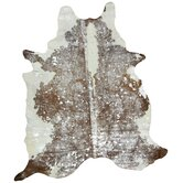 Natura Metallic Cow Hide Rug