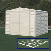 DuraMate Vinyl Storage Shed