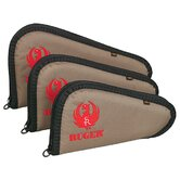 Ruger Embroidered Handgun Case in Tan / Black