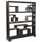 Mao Bookcase in Copper Noir