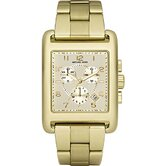 Women's Chronograph Gold Tone Watch