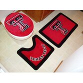 Texas Tech Red Raiders 3 Piece Bath Rugs