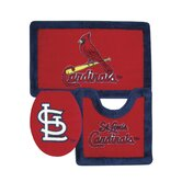St. Louis Cardinals 3 Piece Bath Rugs