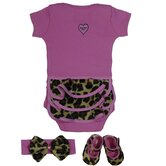Lollipop Leopard Gift Set