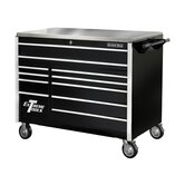 "55"" 11 Drawer Professional Roller Cabinet in Black"
