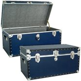 Classic Blue Trunk with Black Binding