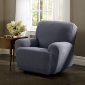 Stretch Twill Recliner Slipcover