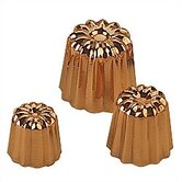 M'passion 2.2&quot; Copper Canele Mold