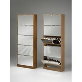 Escape Shoe Cabinet with Mirror Door