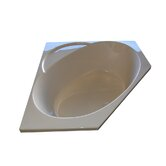 48&quot; x 48&quot; Soaker Corner Bath Tub