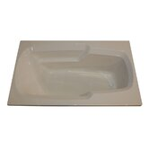 60&quot; x 36&quot; Whirlpool Arm-Rest Bath Tub