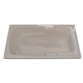 60&quot; x 30&quot; Whirlpool Arm-Rest Bath Tub