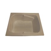 "60"" x 48"" Whirlpool and Air Massage Arm-Rest Bath Tub"
