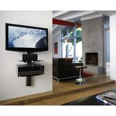 TRIA Wall System with Cable Management (1 or 2 Shelves)