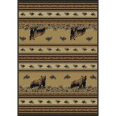 Marshfield Pine Creek Bear Novelty Rug