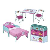 Nickelodeon Dora the Explorer Convertible Toddler Bedroom Collection