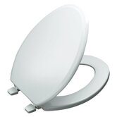 Ridgewood Elongated Closed-Front Toilet Seat