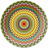 Mosaic Round Platter