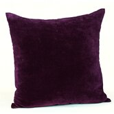 Velvet Cushion in Plum