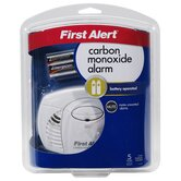 Battery Powered Carbon Monoxide Alarm