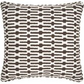 Neutral Territory Links 26&quot; Decorative Pillow in Tobacco