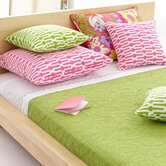 Scramble Key Lime Bedding