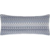 Ila Double Boudoir Pillow in Slate