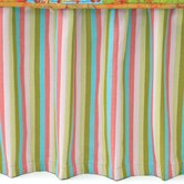 Cabana Stripe Narrow Cotton Bed Skirt