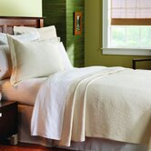 Matelass&eacute; Coverlet Collection in Brook Hill