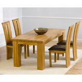 Barcelona Solid Oak Dining Table with Arizona Chairs