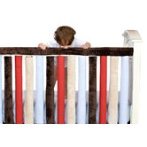 "Teething Guard Cream and Chocolate - 30"" x 6"""