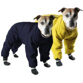 Reversible Dog Snowsuit in Yellow/Black