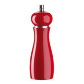 15 cm Verona Red Gloss Salt and Pepper Mill Set