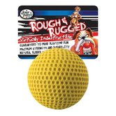 "2.75"" Rough and Rugged Golfball with Bell Dog Toy"