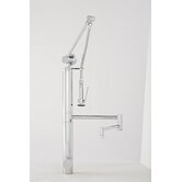 "Hunley Gantry 12"" One Handle Single Hole Pot Filler Faucet with Pre-Rinse Spray"