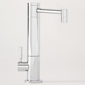 Hunley One Handle Single Hole Hot Water Filtration Faucet with Lever Handle