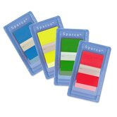 Pop-up Removable Standard Flags, 1&quot;, 100 per Pack, Various Colors