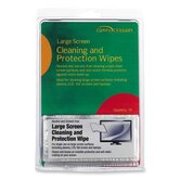 Compucessory Lrg. Screen Cleaning/Protection Wipes, Green