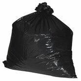 (100 per Carton) 60 Gallon Recycled Trash Bags, 1.35mil