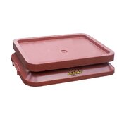 Ant Proof Pet Food Tray in Terracotta