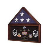 Flag and Memorabilia Display Case / Urn