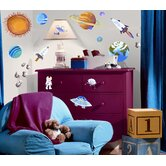 Outer Space Peel and Stick Wall Sticker