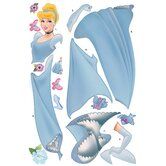 Licensed Designs Cinderella Giant Peel and Stick Wall Decal