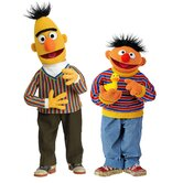 Licensed Designs Sesame Street Burt and Ernie Giant Wall Decal
